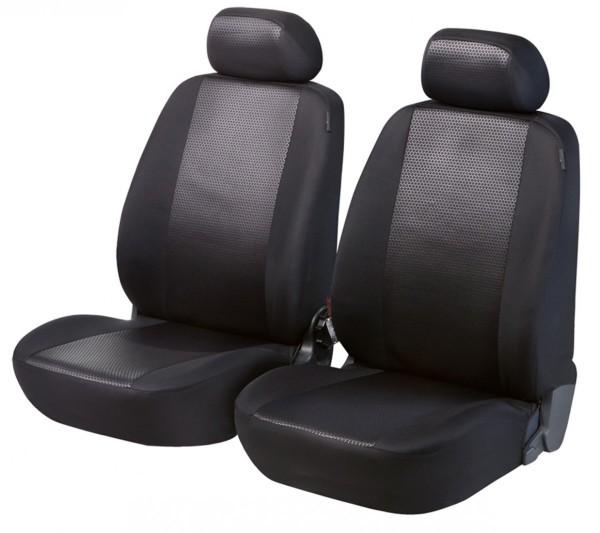 Renault Clio Black: Renault Clio, Seat Covers, Black, Front Seat Set